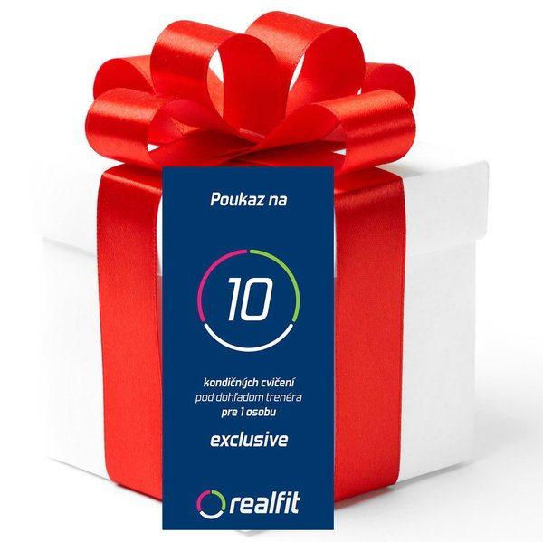 Darčekový poukaz - balíček EXCLUSIVE