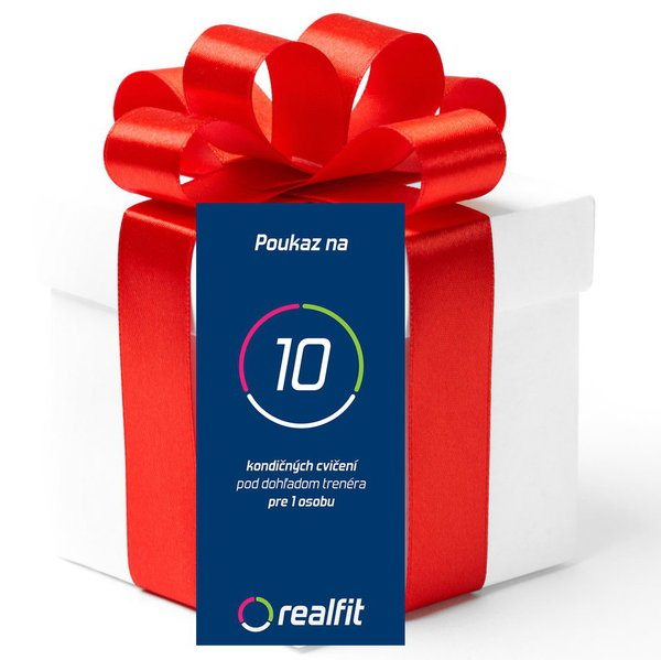 Darčekový poukaz balíček ŠTANDARD - cvičenie s trénerom