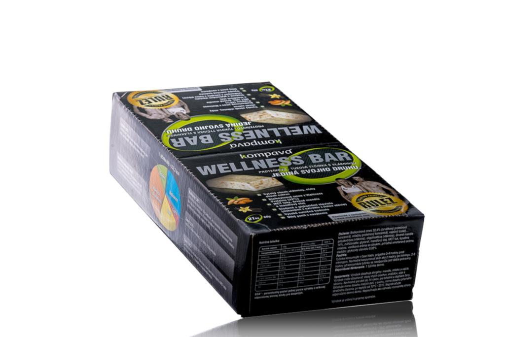 proteínovo tuková tyčinka wellness bar
