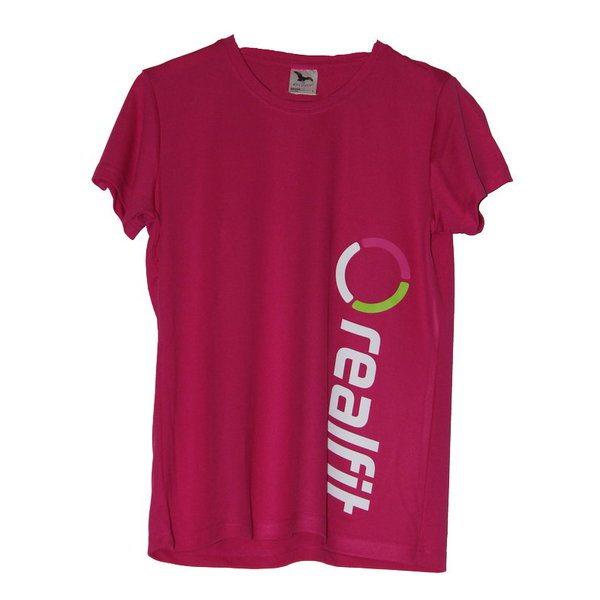 fitness tričko dámske ružové