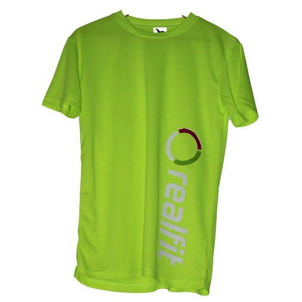 fitness tričko pánske žlté