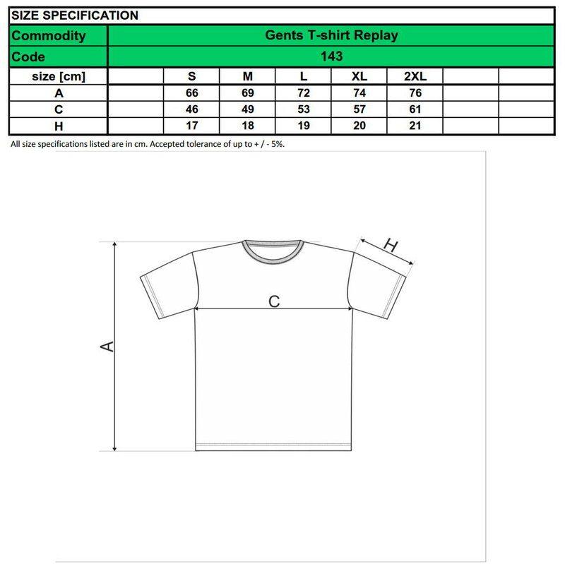pánske tričko čierne - dostupné veľkosti